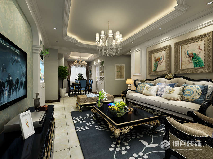 海曙格兰星辰85m²三室两厅美式风格装修效果图-/20190309/20190309113652_50377.jpg