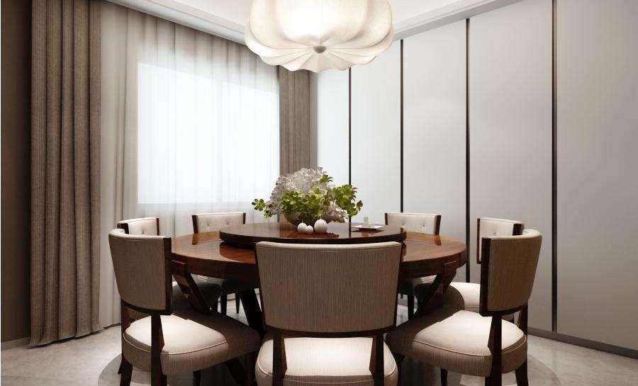 鄞州锦港府四室两厅175㎡中式风格装修效果图
