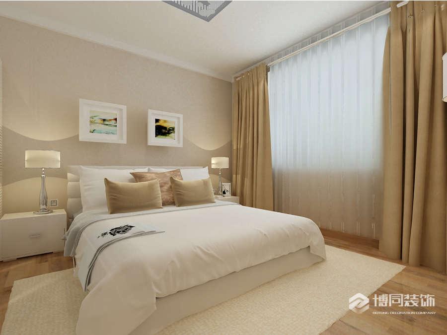 鄞州观海府三室两厅118m²现代简约风格装修效果图
